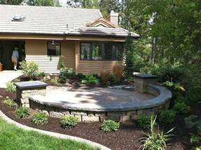 best 25 front yard patio ideas on pinterest lawn