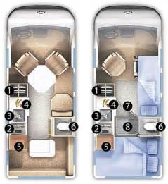 roadtrek floor plans class b rv floor plans pictures to pin on page 7
