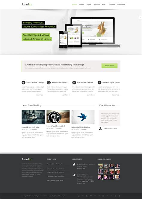 theme avada wordpress free avada multipurpose wordpress theme psdbucket com