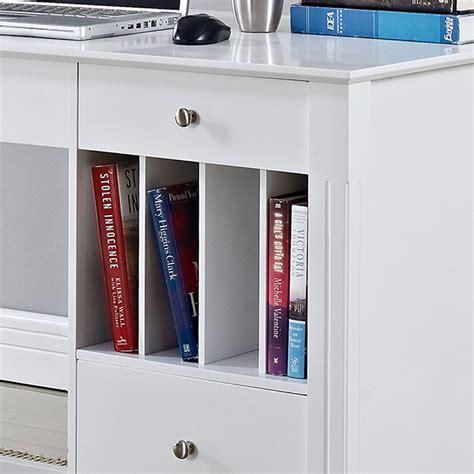 home office desk with storage walker edison deluxe home office writing desk with storage
