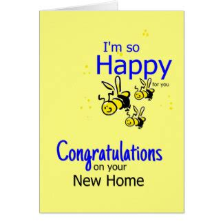 happy in your home congratulations on your new home cards zazzle