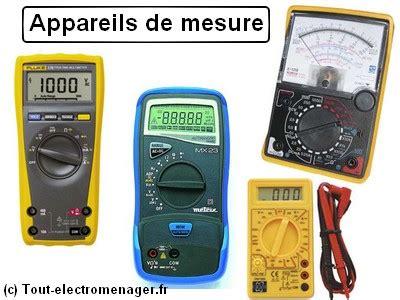 Appareil De Mesure Electrique 2344 by Tout Electromenager Fr Documentation Technique Appareils