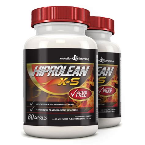 Supplement For Detox From Caffeine by Hiprolean X S Caffeine Free Burner 120 Capsules In