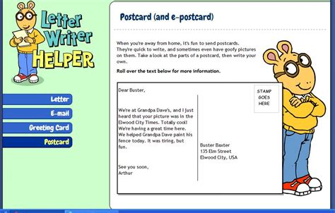how to make a post card on line self study materials oh my god 4