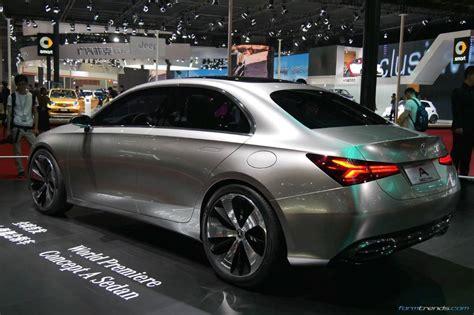 mercedes sedan mercedes concept a sedan previews production model