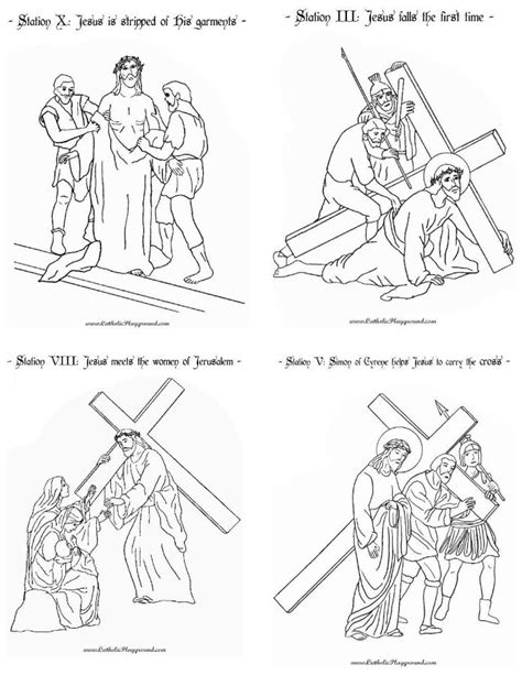 printable coloring pages for stations of the cross printable stations of the cross booklet catholic