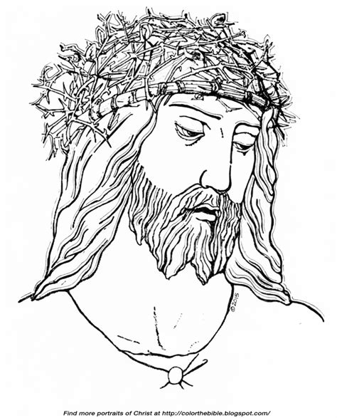 coloring pages jesus crown of thorns jesus crown of thorns coloring coloring pages