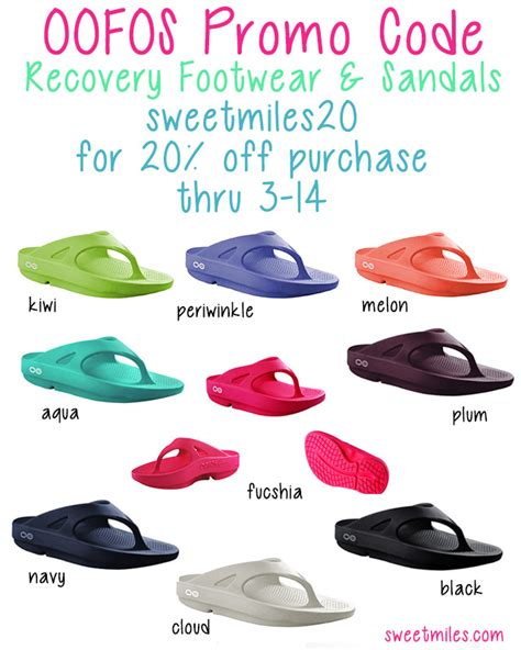 happy slippers coupon code oofos recovery footwear sandals promo code