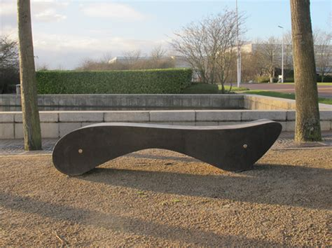 modern concrete bench amesbury curved concrete bench modern design and form