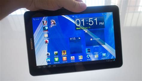 comfortable tab samsung galaxy tab 7 7 review 04 gadget guy australia
