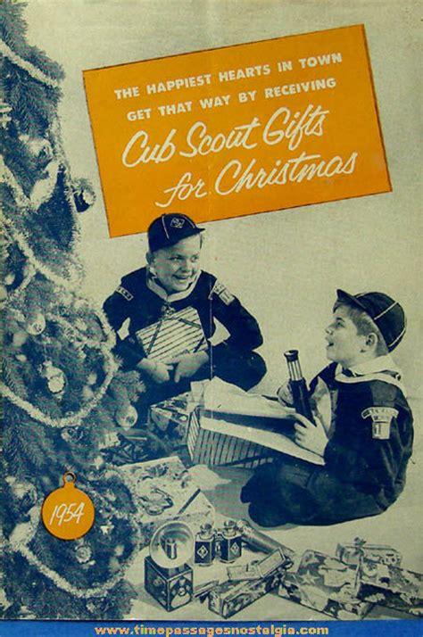 1954 cub scouts christmas gift advertising catalog tpnc