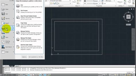 download layout templates autocad autocad quick layout template youtube