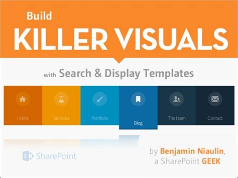 sharepoint 2013 template build killer visuals with sharepoint 2013 search display