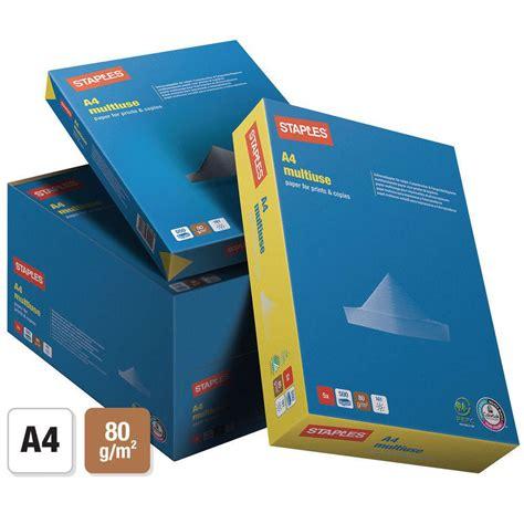 tattoo inkjet paper staples staples a4 80 gsm multipurpose paper for laser inkjet and