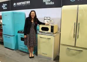retro style kitchen appliances northstar vintage style kitchen appliances from elmira