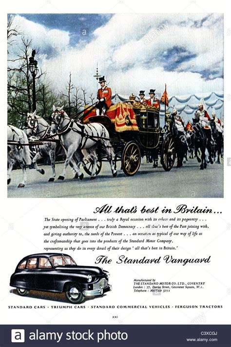 standard motors advertisement for the standard motor company s car the