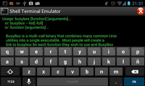 android shell shell terminal emulator android apps on play