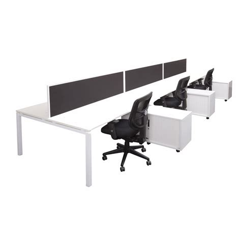 modular desk 2 person in line office furniture