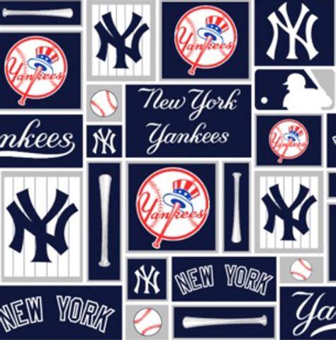 Topi Baseball New York Ny75 Shop cotton new york yankees squares mlb baseball sports team cotton fabric print by the yard