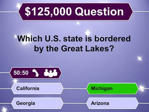 Who Wants To Be A Millionaire Powerpoint Template Classroom Game Powerpoint Who Wants To Be A Millionaire Template