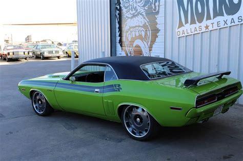 1971 Dodge Challenger Giveaway - gas monkey garage challenger car interior design