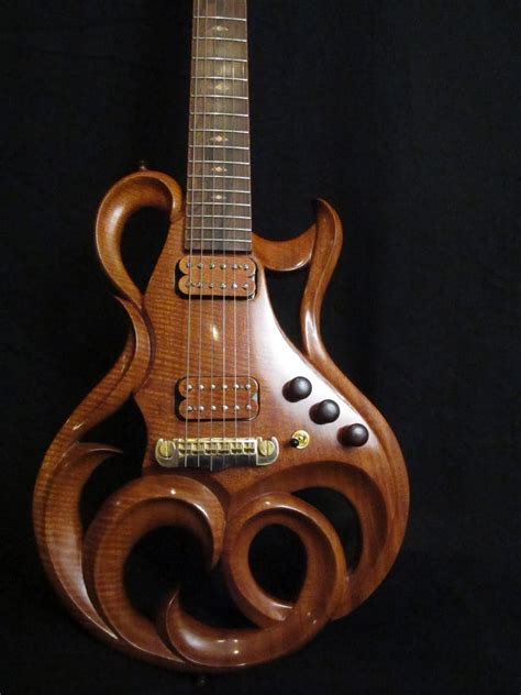Custom Handmade Electric Guitars - rigaud guitars details of the rigaud electric custom