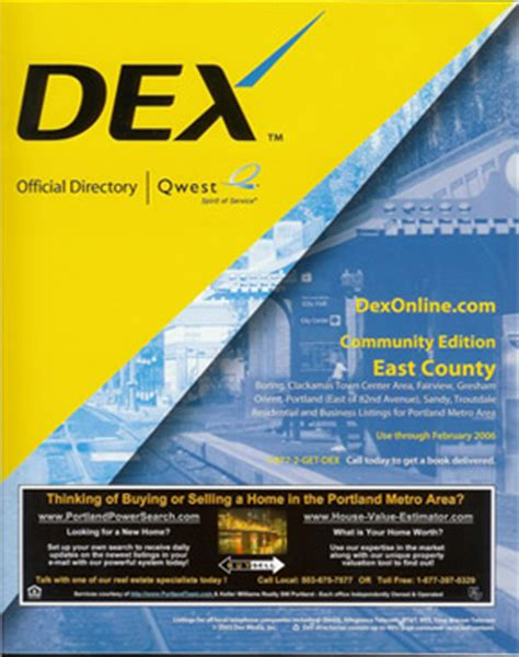 Dex Phone Lookup Free Yellow Pages Book Cover Www Pixshark Images Galleries With A Bite