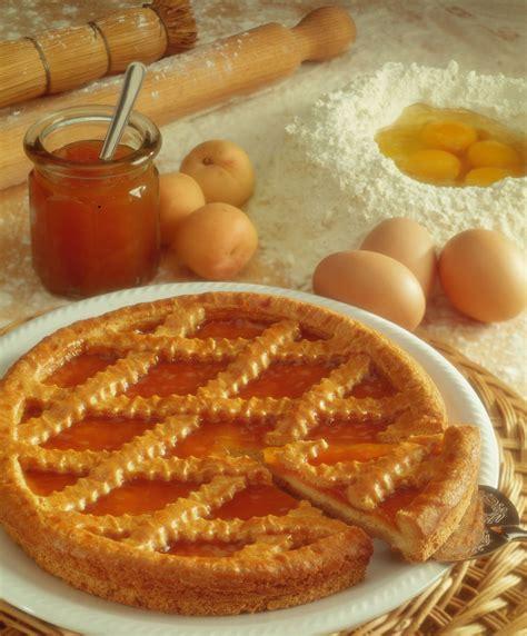 tarta cu gem de caise retete culinare romanesti  din