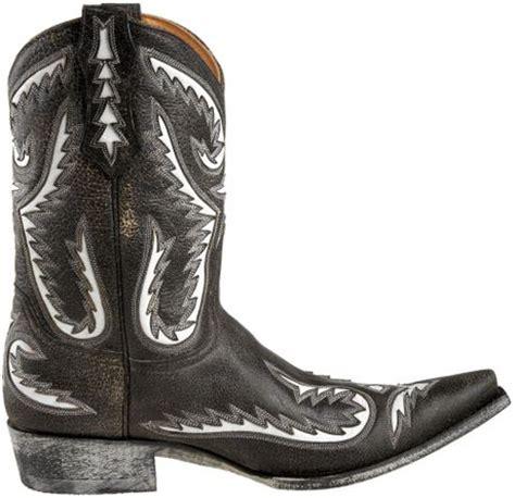 gringo mens cowboy boots gringo mens crockett fashion cowboy boot in black for