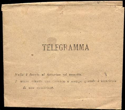 testo telegramma il rumentaio r 033 telegramma di raccomandazione