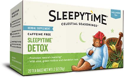 Celestial Seasonings Wellness Tea Detox by Celestial Seasonings Sleepytime Detox Free 1 3 Day