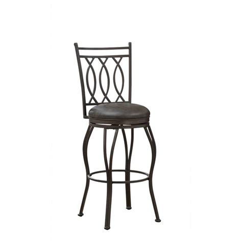 Can Peppers Cause Stool by American Heritage Leonard 26 Quot Leather Swivel Counter Stool