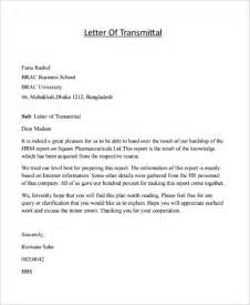 Cover Letter Of Transmittal Exle Letter Of Transmittal Exles 10 Sles In Word Pdf