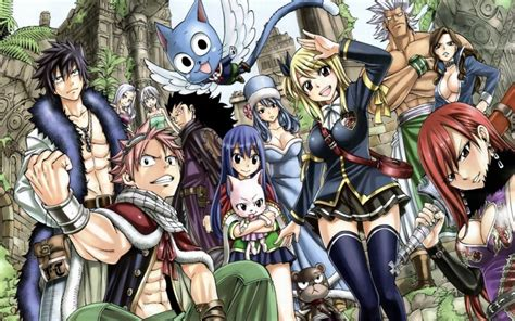 fairy tail manga fairy tail manga review anime character