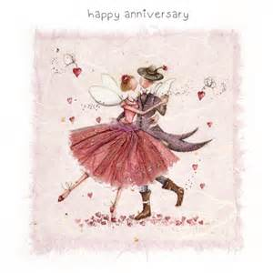 a happy anniversary card to send to a loving