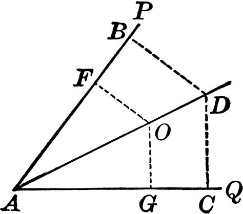 You Can Bisect An Angle Using The Paper Folding Technique - angle bisector exle match problems