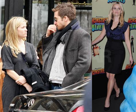 The Scoop On Reese And Jake by Photos Of Reese Witherspoon And Jake Gyllenhaal Shopping