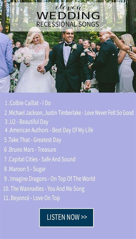 The 25  best Wedding exit songs ideas on Pinterest   Exit