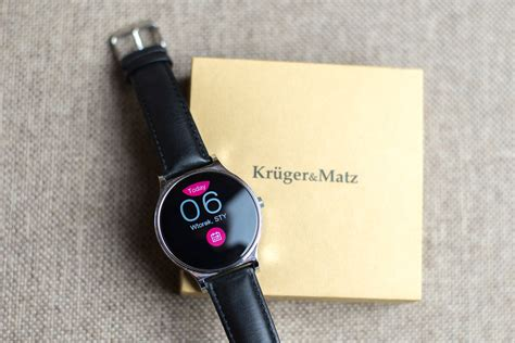 matz möbel ładny i zaskakująco tani smartwatch kruger matz style