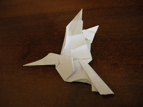Hummingbird Origami - photo