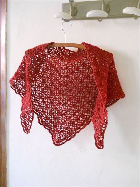 pattern for triangle shawl crochet triangle shawl free pattern