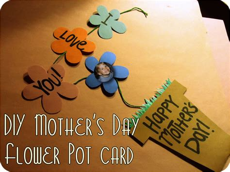 s day flower card template 30 and creative diy s day cards every child