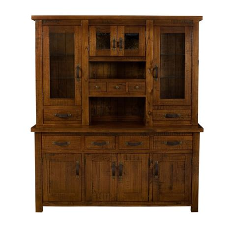 hillsdale furniture 4321bh outback buffet with hutch outback collection buffet and hutch 69 wide in