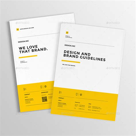 Brand Manual By Egotype Graphicriver Brand Manual Template