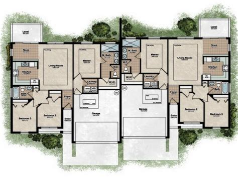 Plan Of Duplex by Best Duplex House Plans Escortsea