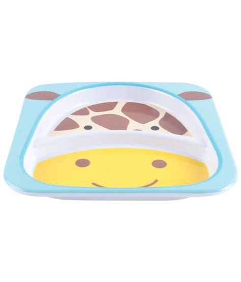 Skip Hop Zoo Plate Giraffe Plate skip hop zoo divided plate giraffe buy skip hop zoo divided plate giraffe at best prices in