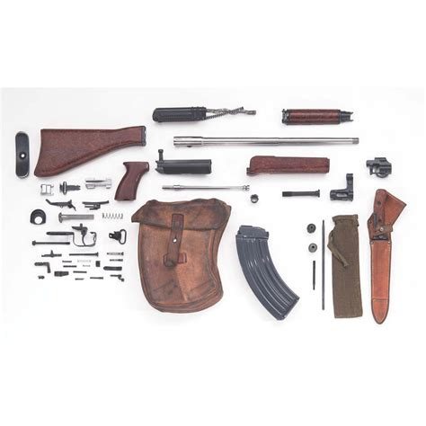 vz 58 parts kit with barrel and wood and plastic