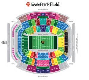 Jaguar Stadium Seating Chart Seating Map