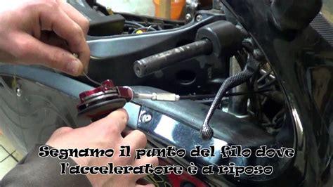 sostituzione rubinetto sostituzione cavo acceleratore con miscelatore