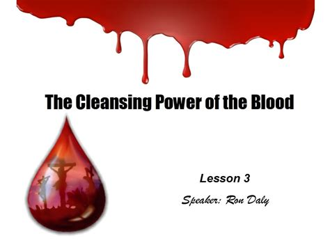 The Of Blood quot the cleansing power of the blood quot hammond church of